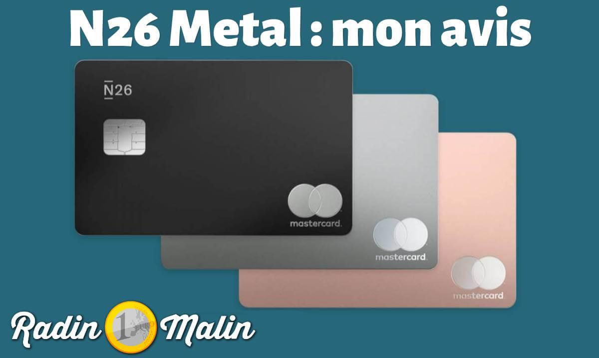 N26 Metal avis
