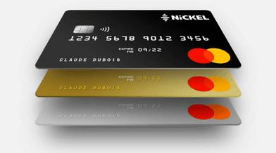 carte Nickel Chrome métal