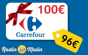 Bon d'achat Carrefour moins cher