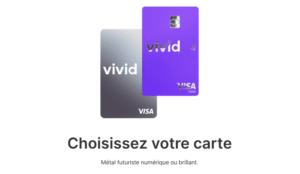 Vivid Money Avis carte métal