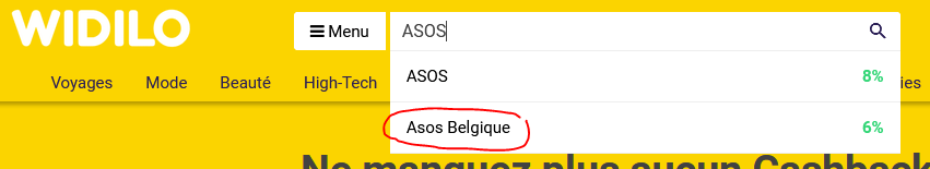 Widilo Belgique